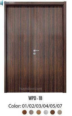 Cửa gỗ nhựa composite – WPD18